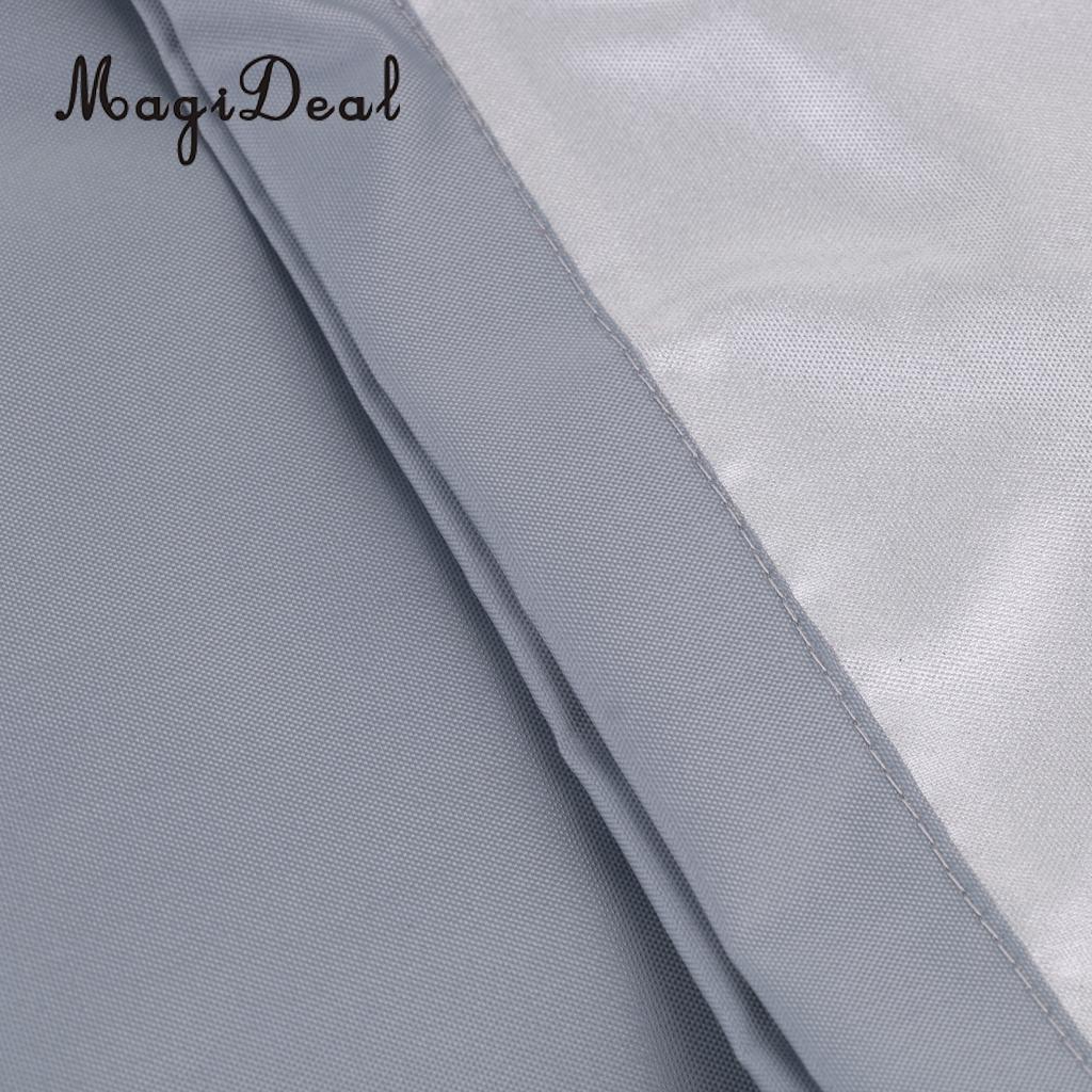 Imperméable à l'eau UV soleil Protection contre la poussière bateau gonflable canot couverture tendre stockage costumes jusqu'à 7.5-17ft-7 tailles disponibles - 4