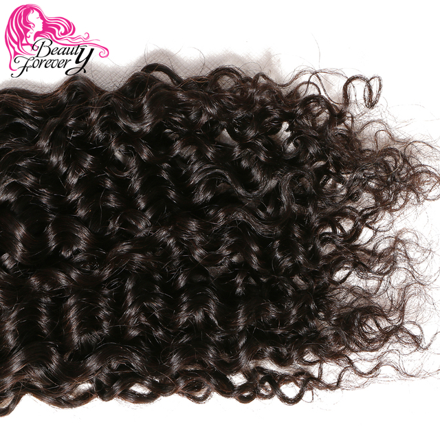 Beauty Forever Malaysian Curly Hair Weave Bundles 1 Piece Remy Human Hair Weaving Natural Color 8-26inch Free Shipping