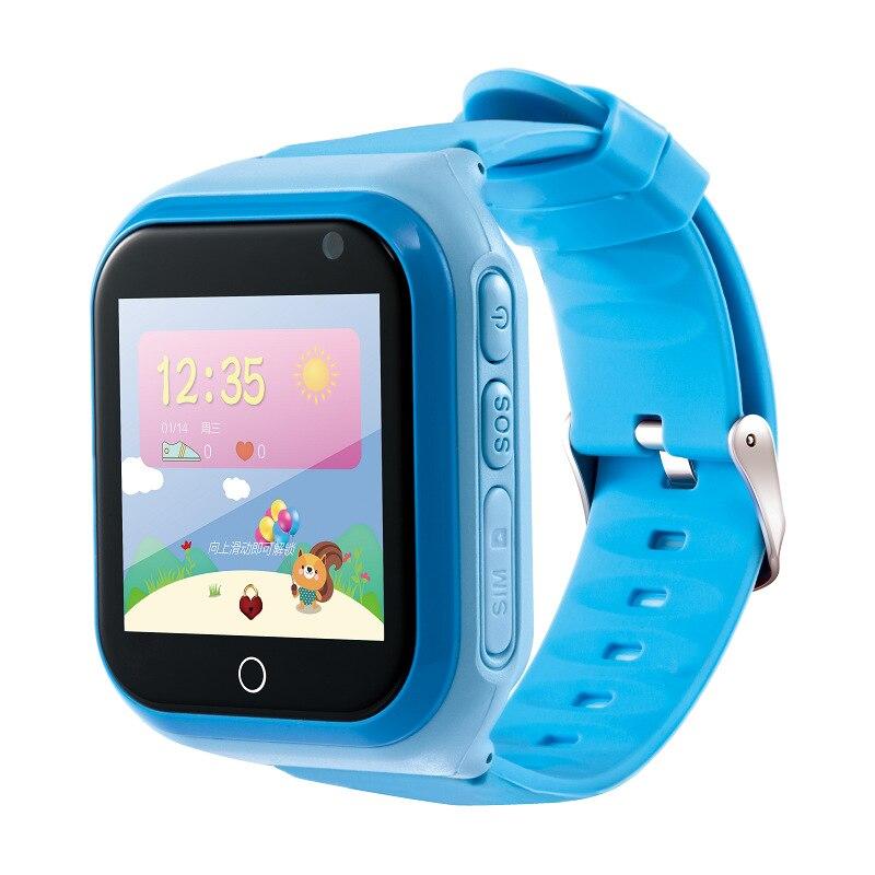 Bambini Orologio Intelligente 4G 1.54 'Touch Screen GPS Bambini Della Vigilanza SOS di Chiamata Monitor Posizione Tracker di Supporto Chat Vocale bambino Intelligente Orologio Da Polso - 2