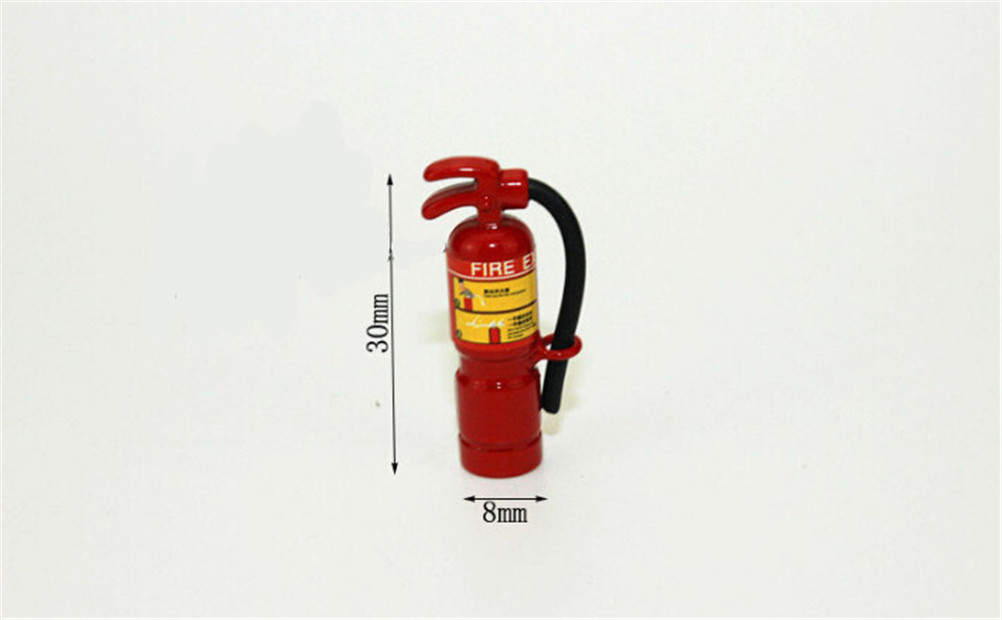 HOT <font><b>1</b></font>:<font><b>12</b></font> Scale Red Fire Extinguisher <font><b>Dolls</b></font> <font><b>House</b></font> Miniature <font><b>Accessories</b></font> image