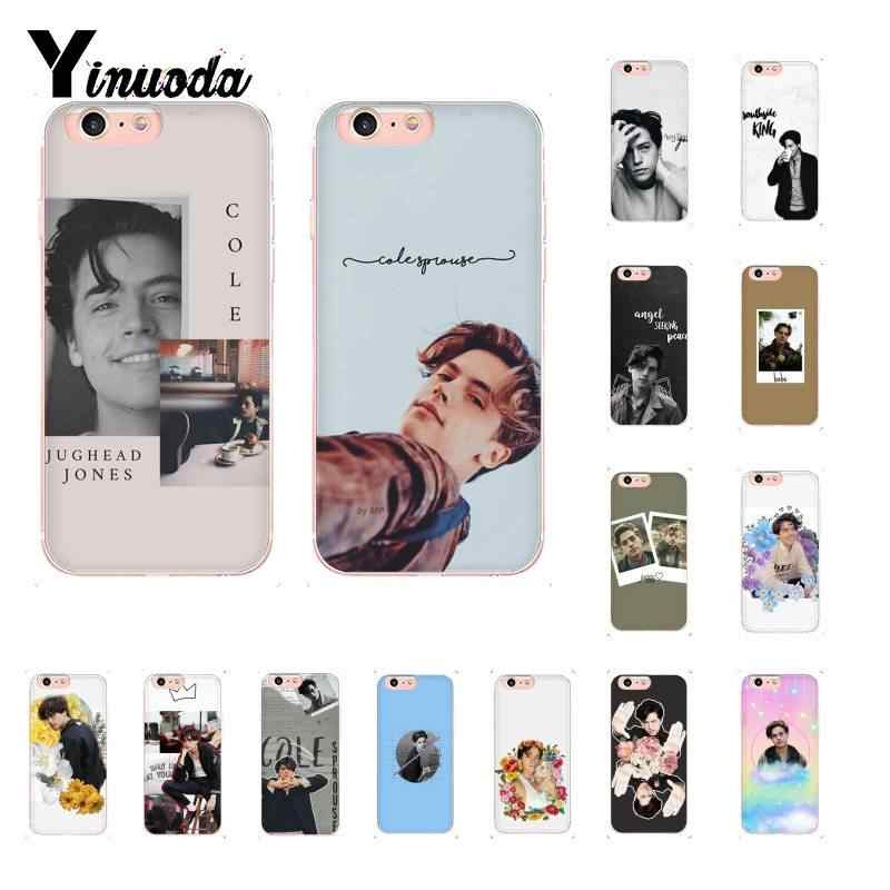 Yinuoda American TV Riverdale Cole Sprouse Soft Phone Case for iPhone 8 7 6 6S Plus X XS MAX 5 5S SE XR 10 11 11pro 11promax