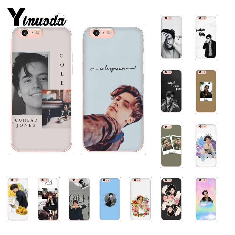 Yinuoda American TV <font><b>Riverdale</b></font> Cole Sprouse Soft Phone <font><b>Case</b></font> for <font><b>iPhone</b></font> 8 7 <font><b>6</b></font> 6S Plus X XS MAX 5 5S SE XR 10 11 11pro 11promax image