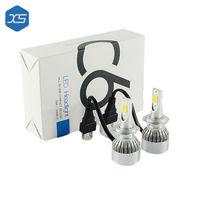 Wholesale 6000K Super White Led Bulb C6 H7 Car Head Light H1 H3 H11 9005 9006