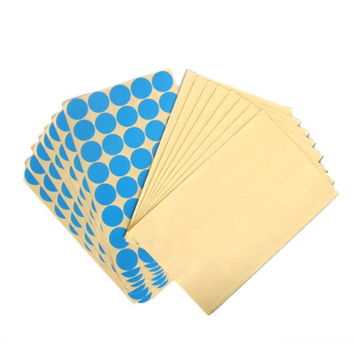 25mm Bright Color Coded Round Blank Dots Label Stickers