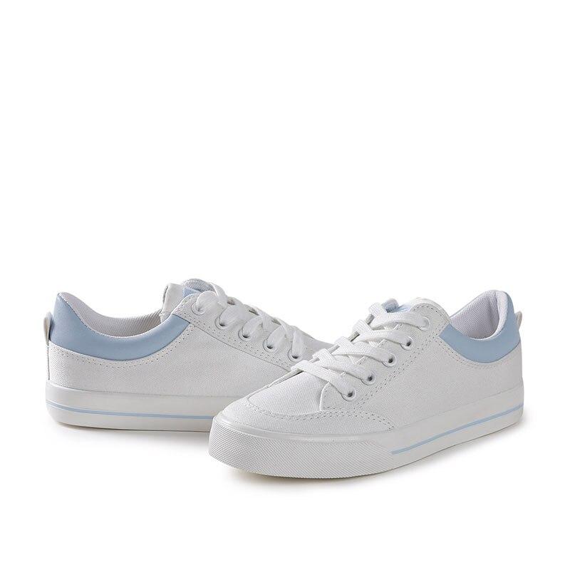 forme Plate Chaussures Vente Femmes Toile And white Chaude Saison Blue La white Semelles Pour Black Bande Confortable Toute Black Casual Mode Amortissement dZq8g0w5qx