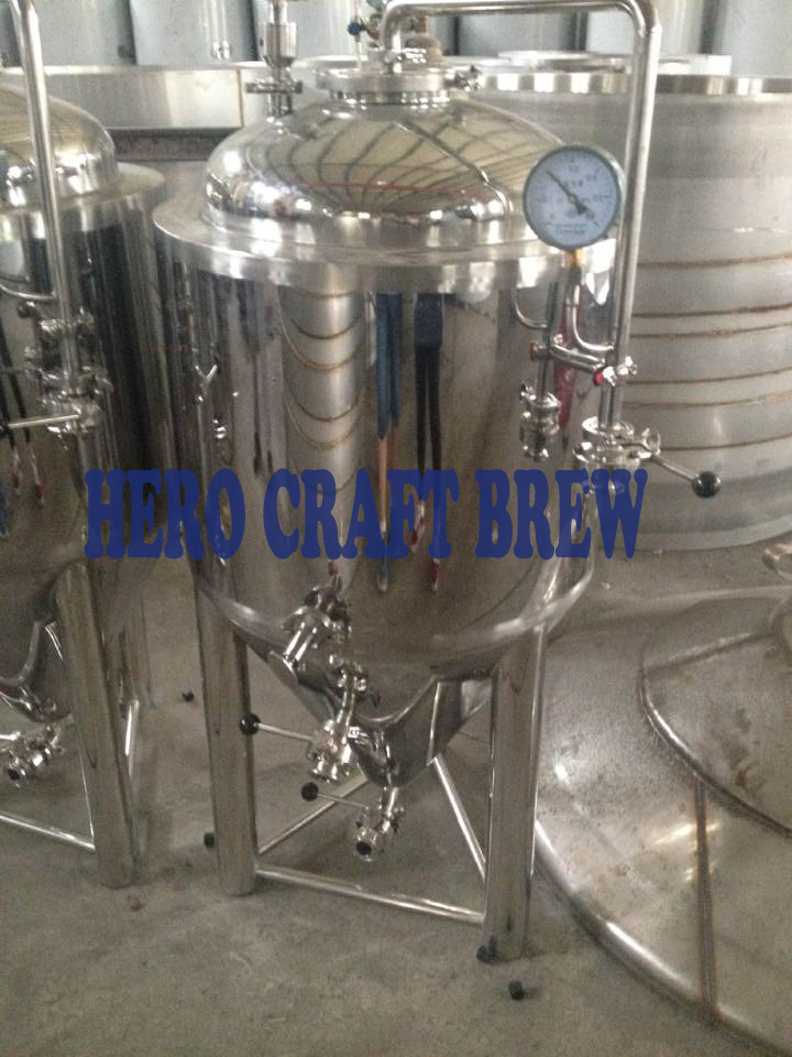 Home Brew Stainless Steel 100L Beer Fermentation Tanks For Microbrewery Conical Fermentation Tanks