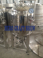 Home Brew Stainless Steel 100L Beer Fermentation Tanks For Microbrewery