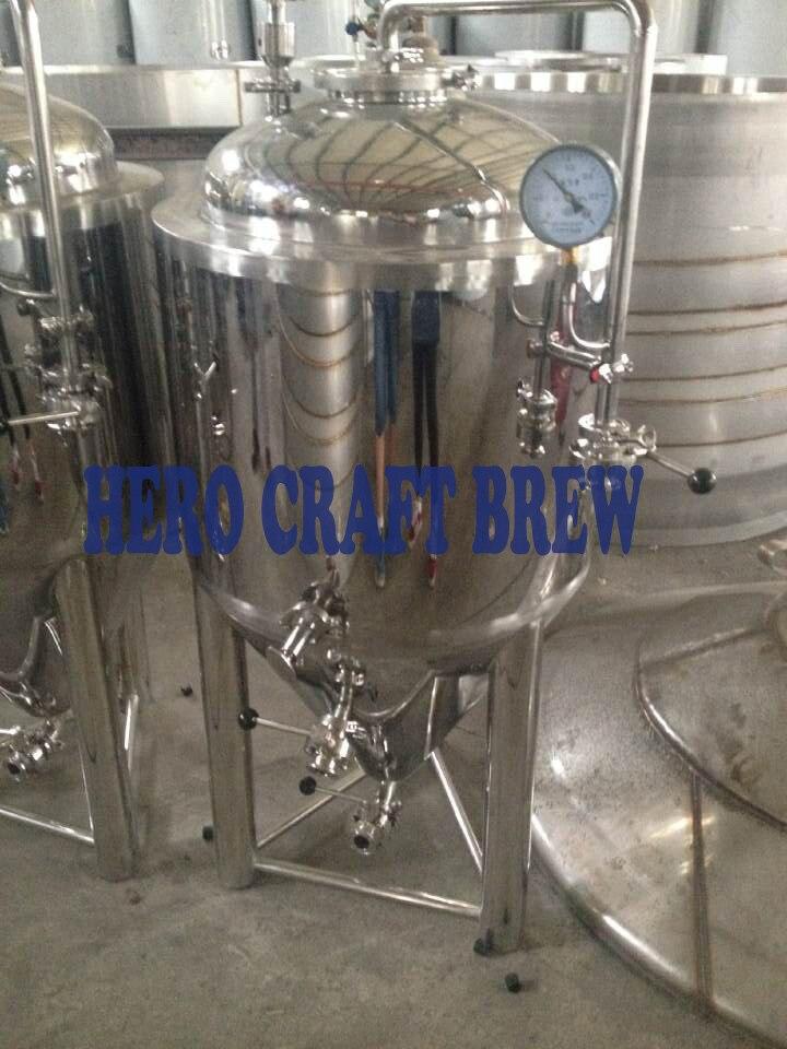 Réservoirs de fermentation de bière de l'acier inoxydable 100L de brassage à la maison pour des réservoirs coniques de fermentation de microbrasserie