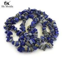 5-9mm Imitação Pedra Lapis Lazuli Contas de Piedras preciosas Atacado 1 Vertente 32
