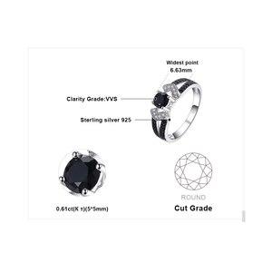 Image 5 - JewelryPalace Đen Spinel Nhẫn Nữ Bạc 925 cho Nữ, Nhẫn Nữ Đính Đá Silver Bạc 925 Đá Quý Trang Sức Viễn Chí Bảo