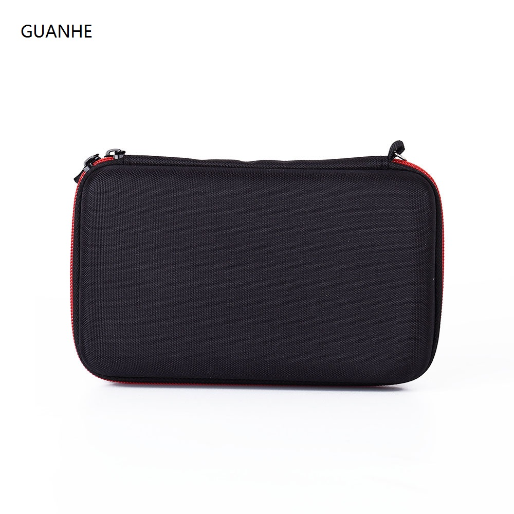 GUANHE Hard Disk Case Portable HDD Protection Bag for External 2.5 inch Hard Drive Earphone U Disk For Philips OneBlade