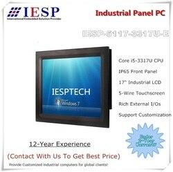 17 بوصة لوحة الصناعية PC ، النواة i5-3317U وحدة المعالجة المركزية ، 4GB DDR3 RAM ، 500GB HDD ، 4 * RS232 ، 4 * USB2.0 ، OEM/ODM اختياري