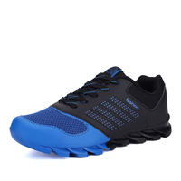 New Arrival 2018 New Trend Running Shoes Men Sneakers Shoes Orange Blue Male Sport Runing Shoes Cheap
