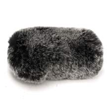 Best Short Artificial Soft Fur Wind Microphone Cover Windscreen Windshield Muff For Rode Video Mic PRO Noise Reduction 16cmx8cm