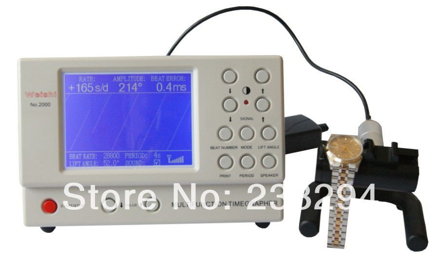 Watch Timing Machine Multifunction Timegrapher NO. 2000 for rolex watch repairers watch hobbyists
