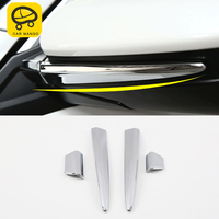 Car Man Go For honda civic 10th 2016 2018Auto Car styling Rearview mirror trim cover sticker Exterior Accessories