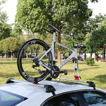 Road Bicycle MTB Roof Rack Quick Release Bicycle Mounting Bracket Fixed Clip Luggage Car Rack