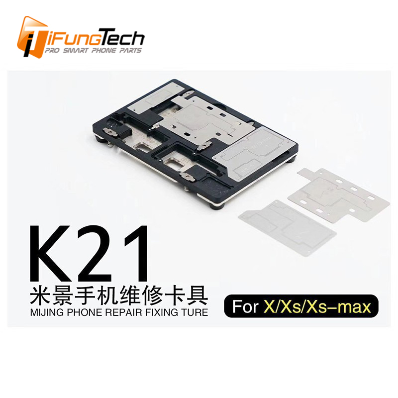 MJ K21 Multi-functional Motherboard Holder Fixture For iPhone X/XS/XS MAX Micro Soldering Repair Station Fixing Tools(China)
