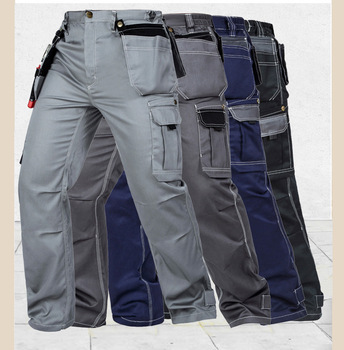 Mens Summer Light Weight Work Gear Mens Durable Resistant Pants Free Shipping