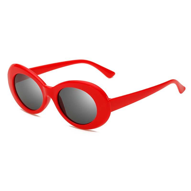 2019 Clout Goggles  Round Sunglasses For Women Men Brand Designer Glasses UV400 Retro Sun Glasses Eyewear