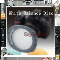 Linkstar Auto White Balance WB Disc Panel Card Tool For DSLR Lens D3100 D3200 5D2 5D3