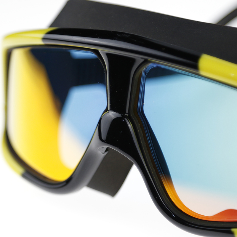 JAZERO Men Women Swimming Goggles Professional Anti Fog Swim Eyewear Electroplate Waterproof Swim Glasses For Men in Swimming Eyewear from Sports Entertainment