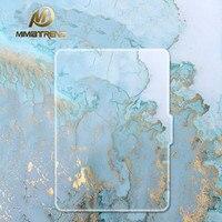 Mimiatrend Blue Marble Grain PU Cover For Amazon Kindle Paperwhite 1 2 3 449 558 Case