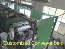 (Customized conveyor belt)  PVC Green Transmission Conveyor Belt Industrial