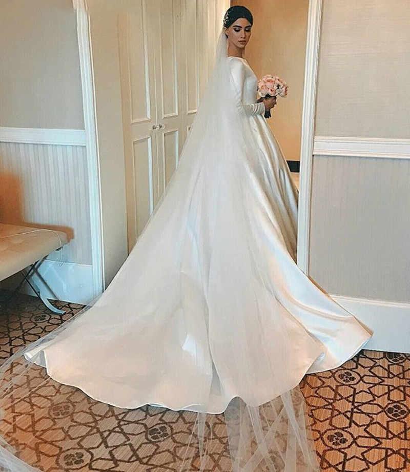 JIERUIZE Laço Branco Apliques Vestidos de Casamento Simples v-neck cintas de espaguete Vestidos de Noiva Vestidos de Casamento