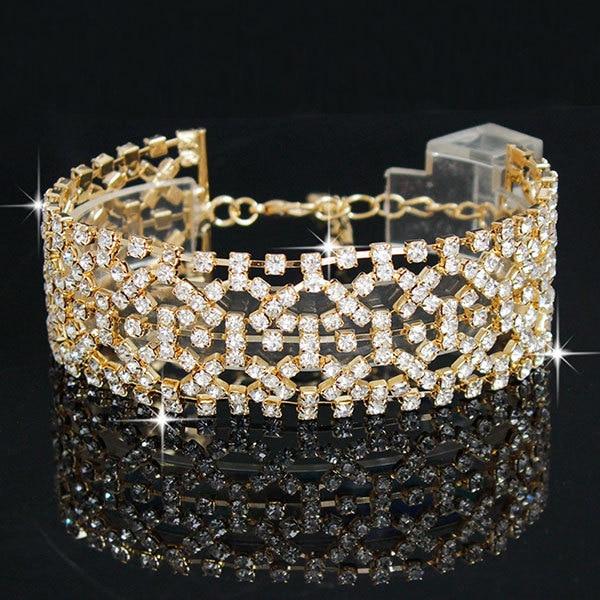 FU Crystal Bracelet Link...