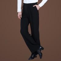 Newly Male Dance Pants Professional Mens Latin Dance Trousers Samba Modern Ballroom Dance Costumes