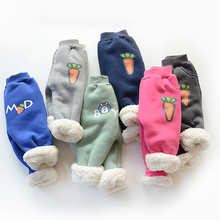 Rampampam kids pants 2017 children winter pants for boys warm trousers carrors baby Cashmere harems pants