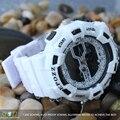 EPOZZ relógios esportivos para homens namorado branco borracha relogio masculino digital-relógio cinética ao ar livre relógios digitais E1605W