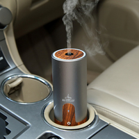 HUOX 2016 New Wooden USB Car Ultrasonic Humidifier Essential Oil Aroma Diffuser Aromatherapy Mist Maker Fogger