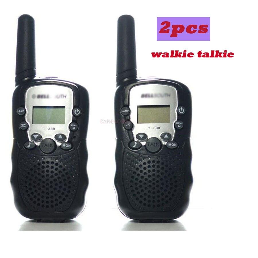 imágenes para Ham Radio portátil Walkie Talkie 2 unids Portátil 2 de Dos Vías UHF Estación de Radio Móvil Cb Radio Comunicador Para Niños Walkietalkie
