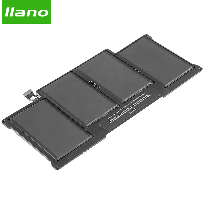 llano A1405 Laptop Battery for APPLE MacBookAir A1369 A1405 A1466 MC965 MC966 MacBookAir 13in laptop battery 6700mAh hsw rechargeable battery for apple for macbook air core i5 1 6 13 a1369 mid 2011 a1405 a1466 2012