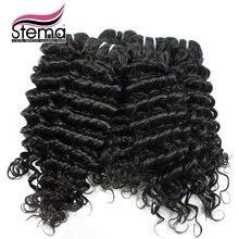 Wholesale Free Shipping TopQuality CheapHuman Hair 100g Bundles Deep Wave 1kg10pcs Brazilian Deep Curly Virgin Hair bundle Deals