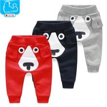 Retail Wholesale New 2016 Spring and Autumn Winter Kids Clothing Boys Girls Harem Pants Cotton Dog