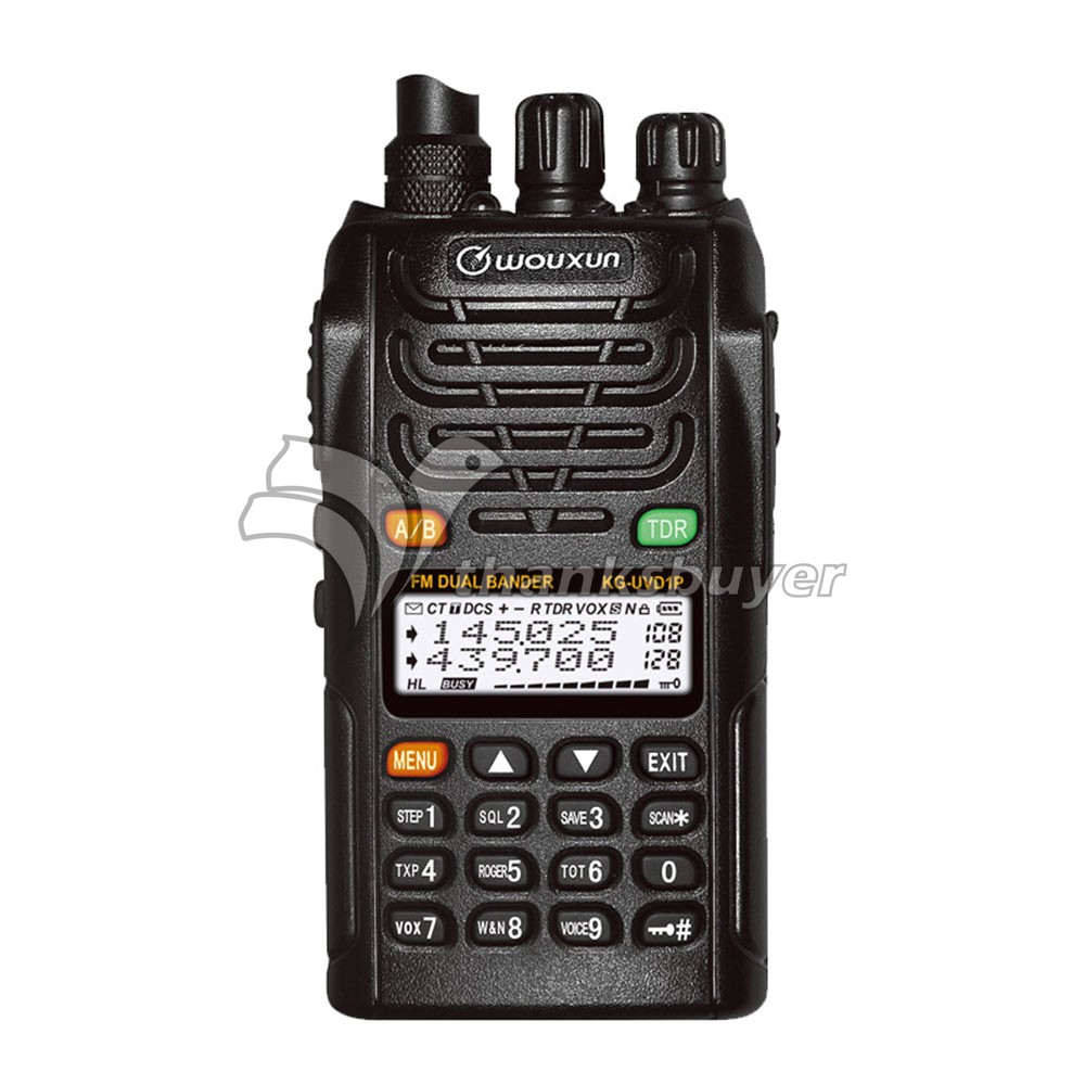 Walkie Talkie HAM Transceiver Two Way FM Radio Dual Band Dual Display 1400mAh/1700mAh WOUXUN KG-UVD1P аксессуар для электроинструментов bosch 1600 a 001 gg