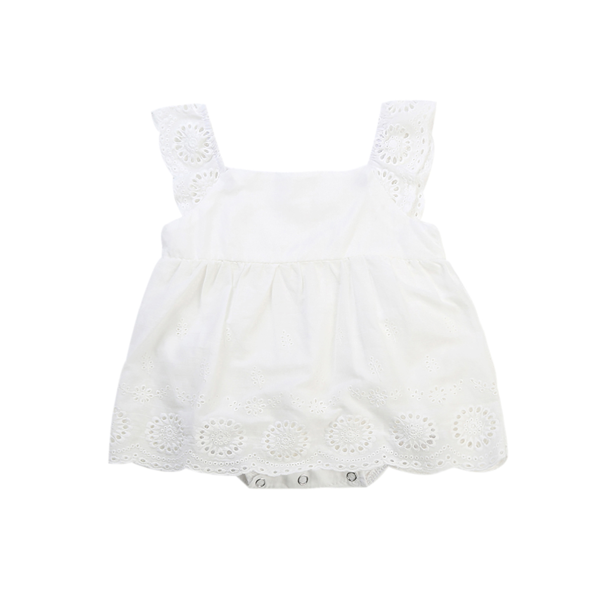 Newborn Infant Baby Clothes Baby Girl Rompers Sleeveless Floral Jumpsuit Playsuit Outfits Sunsuit Summer Baby Onesie Clothing newborn infant baby girl boys cute rabbit bunny rompers jumpsuit long sleeve clothing outfits girls sunsuit clothes
