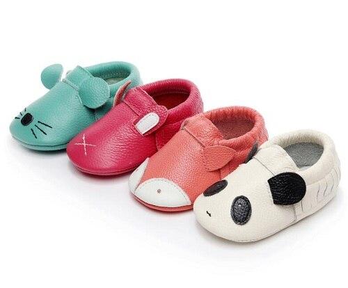 new concept c5742 fedc5 Weiche kuh Leder Baby Jungen Mädchen Infant Schuhe Hausschuhe 0-24 mt Neue  tier Stil Erste Wanderer fringe Skid -Proof Kinder Schuhe