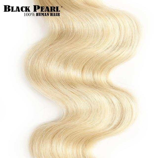 Mechones de cabello brasileño rubio miel 613 mechones de cuerpo ondulado 100% extensiones de cabello humano Remy 3/4 mechones de 10 a 26 pulgadas