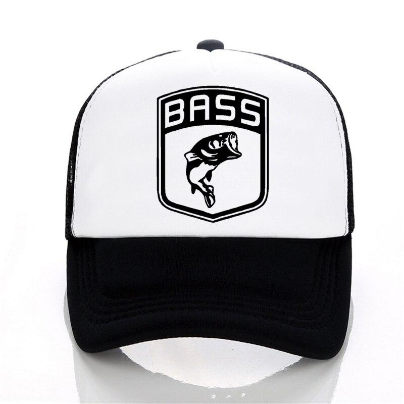 Men Women hat Bass Fishinger Fish Bait Carp Angling Baseball Caps summer print letter cap Hot Selling Funny Mesh tricker