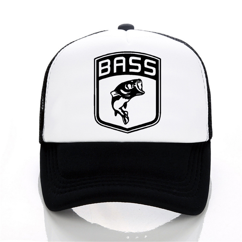 Men Women hat Bass Fishinger Fish Bait Carp Angling Men   Baseball     Caps   summer print letter   cap   Hot Selling Funny Mesh tricker hat