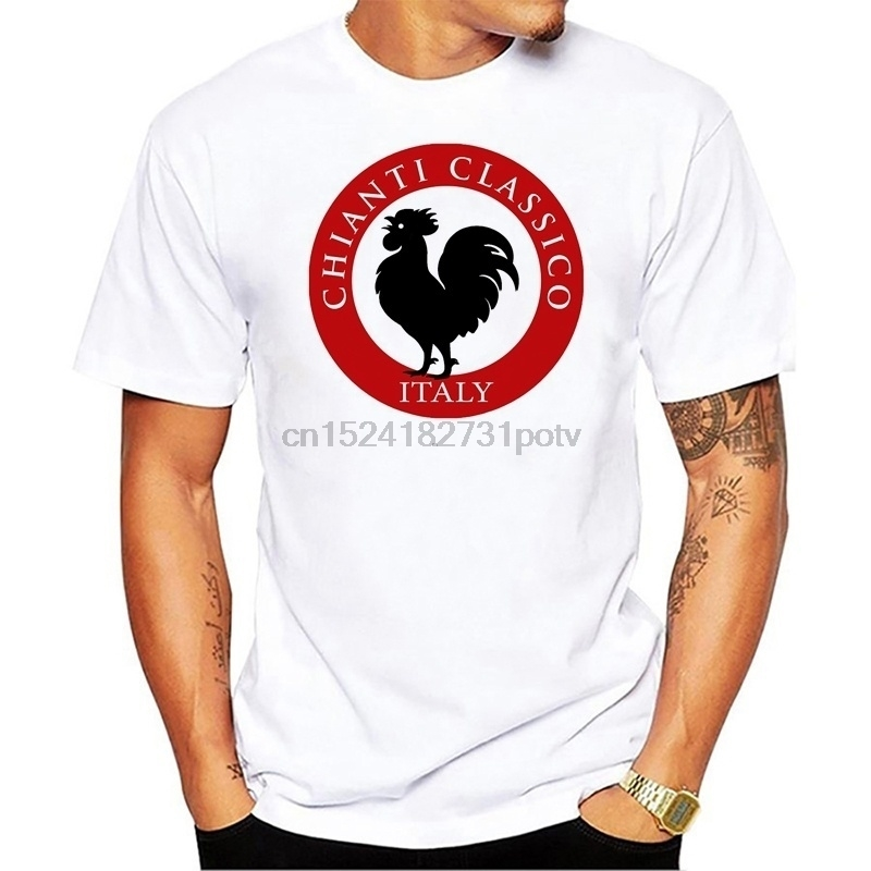 Men s Fun Black Rooster Italy Chianti Classico Print T Shirt Fashion  Novelty Short Sleeve T Shirt Men s Casual Top-in T-Shirts from Men s  Clothing on ... 8a0c6ee8d