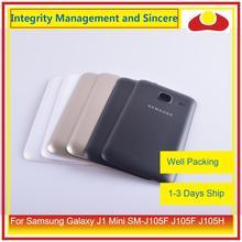Oryginalny do Samsung Galaxy J1 Mini SM J105F J105F J105H J105 obudowa klapki baterii tylna część obudowy obudowa Shell