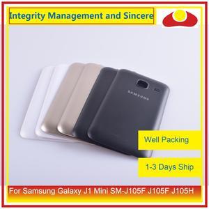 Image 1 - מקורי עבור Samsung Galaxy J1 מיני SM J105F J105F J105H J105 שיכון סוללה דלת אחורי כיסוי אחורי מקרה מארז פגז