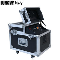 Free Shipping 600w Hazer Fog Machine Smoke Machine With Flight Case