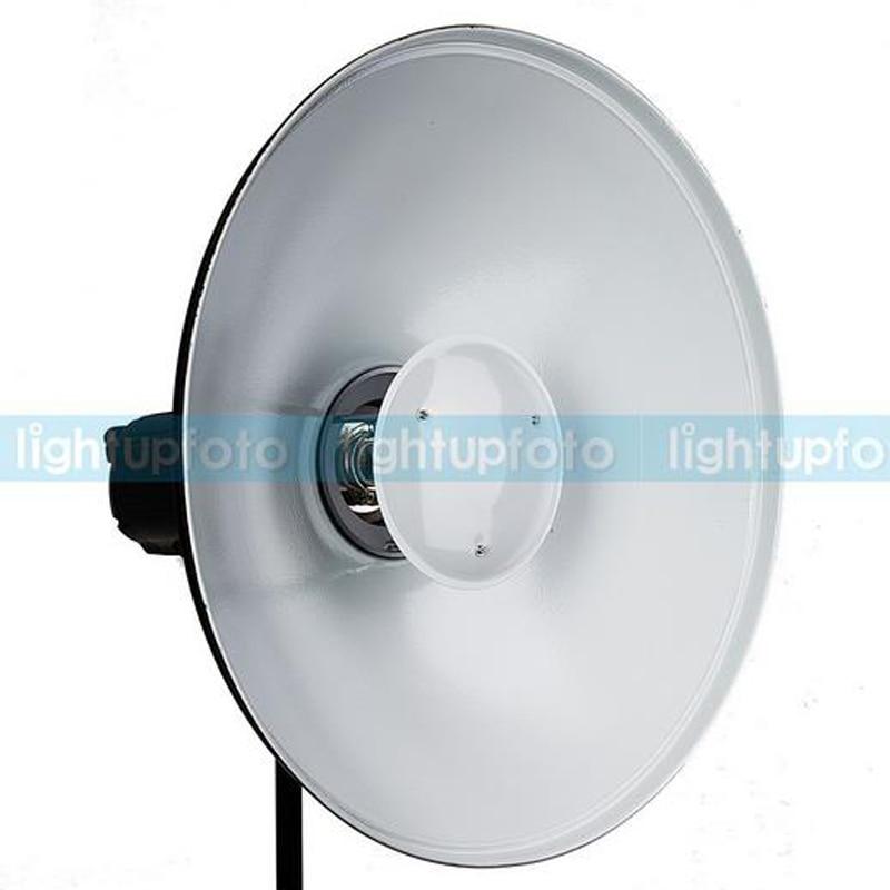 ФОТО Photo Studio 41cm White Reflection Beauty Dish Bowens Mount With Honeycomb for Studio Lighting High Quality
