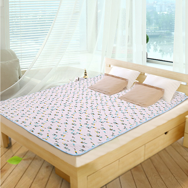 200*150CM Baby Adult Mat Diaper Urine Matelas Infant Covers Bedding Waterproof  Travel Nappy Burp Nursing Changing Pads
